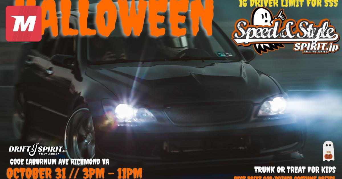 Halloween Richmond Va 2020 HALLOWEEN SSS Speed & Style info on Oct 31, 2020 (805395