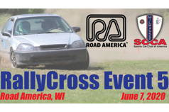 RallyCross Event #5 - Milwaukee Region SCCA