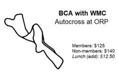BCA AX3/WMC AX1 - ORP (Autocross on Track)