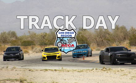 SDR SCCA TRACK WEEKEND April 24th & 25th, 2021
