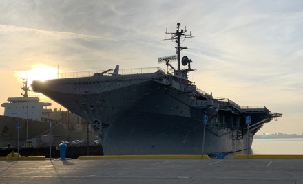 GGR Holiday Banquet & Awards aboard the USS Hornet