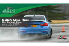 SCDA- Car Control Clinic-Lime Rock- 6/10/21