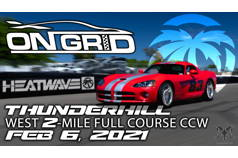 OnGrid - Thunderhill West - Saturday 02/06/2021