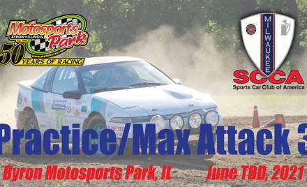 Practice/Max Attack 3 - Milwaukee Region SCCA