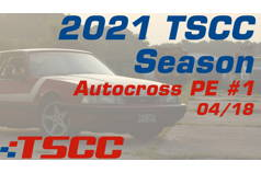 TSCC Autocross 2021 Points Event #1
