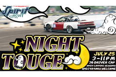 NIGHT TOUGE #3 - July 25th, 2020: 3-11PM