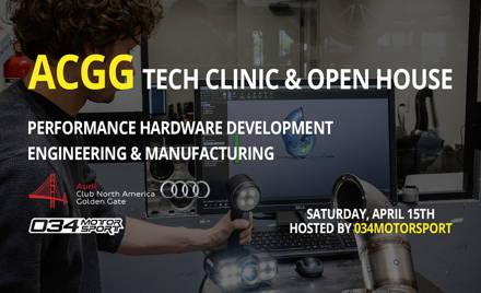 034Motorsport AudiTron17 Tech Clinic & Open House