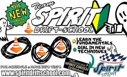 SPIRIT Drift School - Learn to Drift! - 02/07/2021