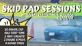 SKID PAD SESSIONS 2020 #1 - 02/02/20