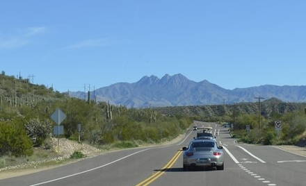 Scenic Drive to Fountain Hills