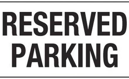 2019-2020 Reserved Winter Paddock Parking