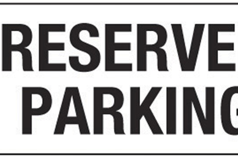 2020-2021 Reserved Winter Paddock Parking