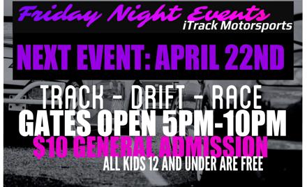 iTrack Motorsports - Lanier Raceplex - April 22