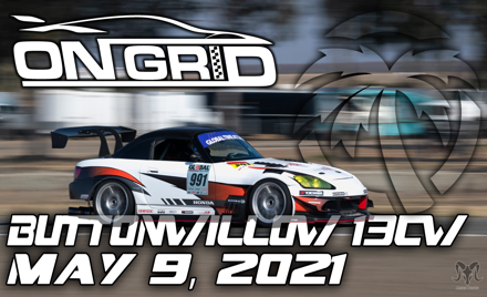 OnGrid - Buttonwillow 13cw - TA + Track Day