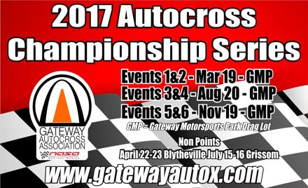 Gateway AutoCross 2017 Championship Events 3&4