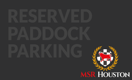 Lone Star PCA Reserved Paddock Parking