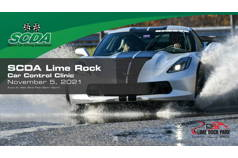 SCDA- Car Control Clinic-Lime Rock- 11/5/21