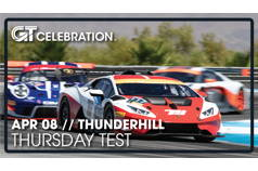 GTC Thursday Test // Thunderhill