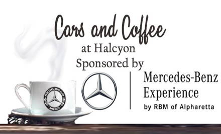 MBCA Cars and Coffee at Halcyon