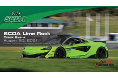 SCDA- Lime Rock Park- Track Day- Aug. 20th 1-5pm