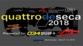 Quattro de Seca 2018 One Day HPDE (92dB)