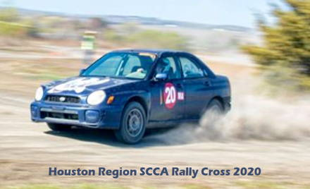 Houston Region SCCA RallyCross #1