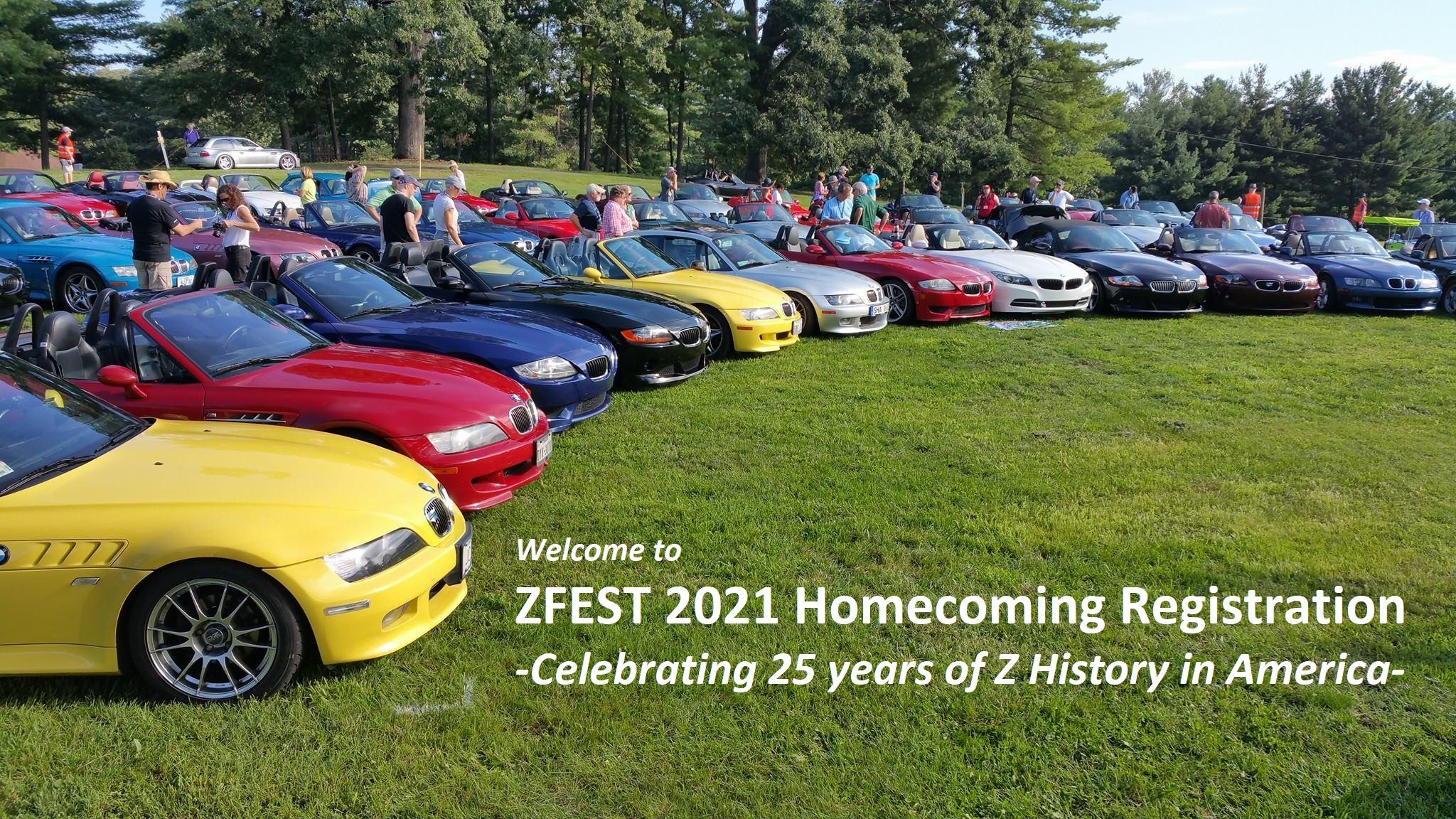 Welcome to ZFEST 2021 Homecoming Registration!