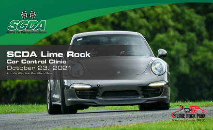 SCDA- Car Control Clinic-Lime Rock- 10/23/21