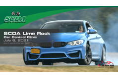 SCDA- Car Control Clinic-Lime Rock- 7/6/21