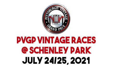 PVGP Vintage Races at Schenley Park