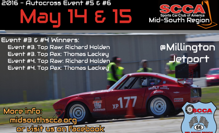 Mid-South Regional Solo Event Weekend 3