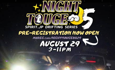 NIGHT TOUGE #5 - August 29th, 2020: 3-11PM