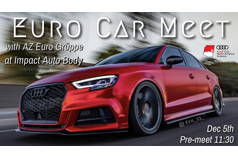 Drive 'n Dine - Euro Car Meet Dec 2020