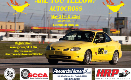 Are you yellow? Autocross