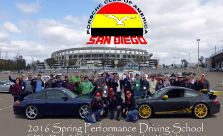 PCA-SDR 2017 Fall Performance Driving School