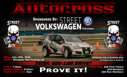 July 19th Street Volkswagen AutoX - Day