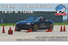 Great River Region SCCA Event #7 (Test-n-Tune)