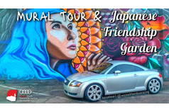 Mural Tour & Japanese Friendship Garden