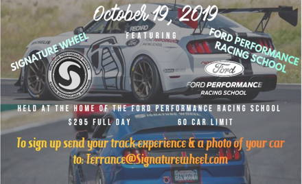 Ford Performance Racing School Farewell Track Day