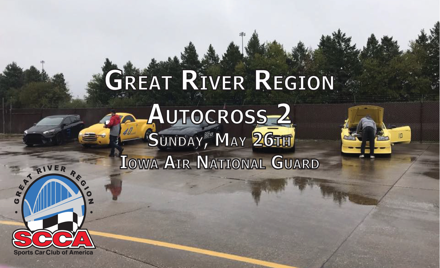 Great River Region Autocross Event #2
