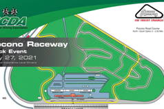 SCDA- Pocono Raceway- Track Day- May 27th