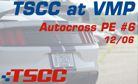 TSCC Autocross Points Event #6