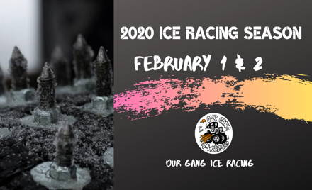 Our Gang Ice Racing 2020 - Week 2