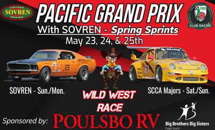 SCCA VOLUNTEERS - Pacific Grand Prix