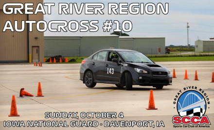 Great River Region SCCA Event #10