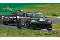 SCDA- Thompson Speedway- Track Day- July 23rd