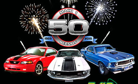 Mach 1 50th Anniversary Celebration