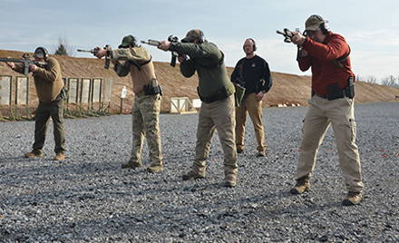 One, Two or Three Day Carbine Course