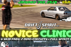 NOVICE DRIFT CLINIC - 01/03/2021