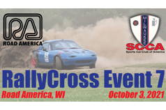 RallyCross Event 7 - Milwaukee Region SCCA